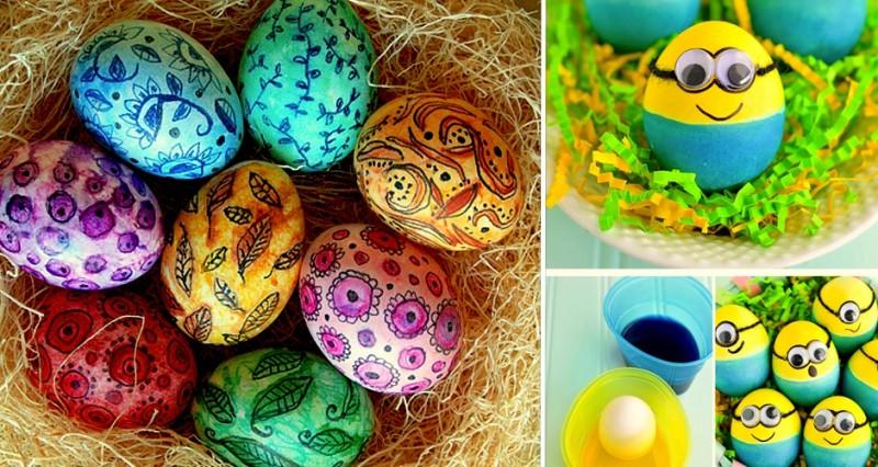 20 idées créatives pour décorer des oeufs de pâques 32