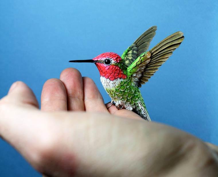 Ces magnifiques oiseaux ont été conçus avec... du papier ! 1