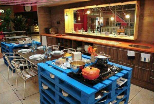 DECO : les palettes s'invitent dans votre cuisine 12