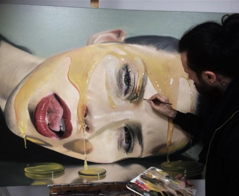 peintures hyper réalistes dargas 8