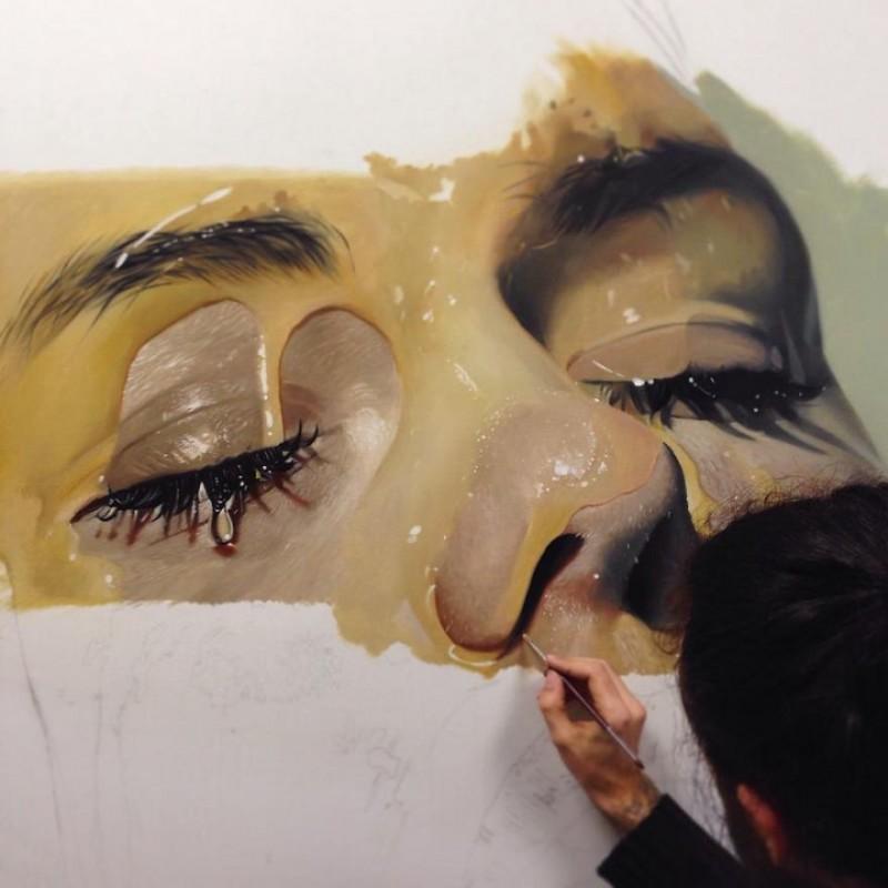 peintures hyper réalistes dargas 9