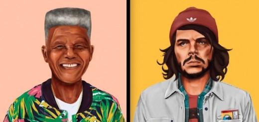 Des personnages célèbres deviennent des Hipsters ! 9