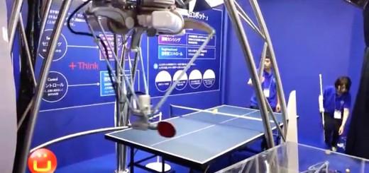 Un automate qui joue au ping pong