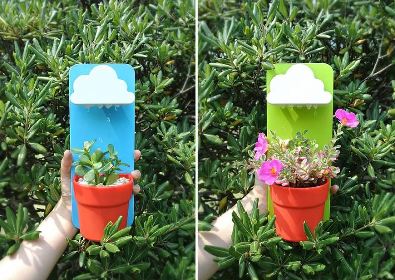 Arrosez vos plantes grâce à ce petit nuage ! 3