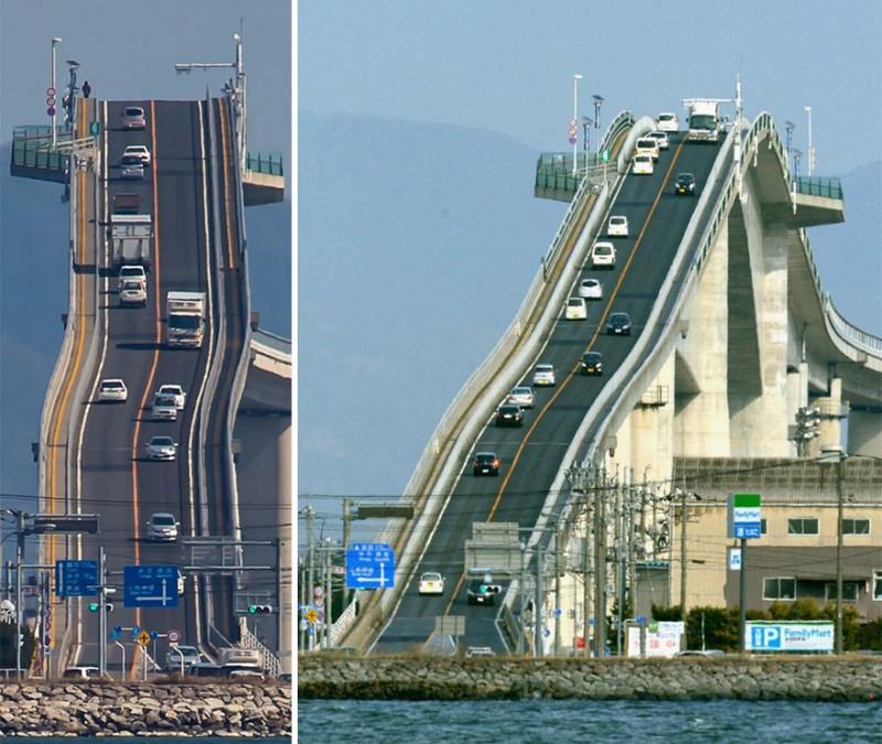 JAPON : ce pont extraordinaire est digne des montagnes russes 4