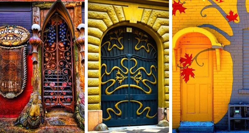 Deco changez votre porte d 39 entr e voici les plus belles - Les portes du hammam vendargues ...
