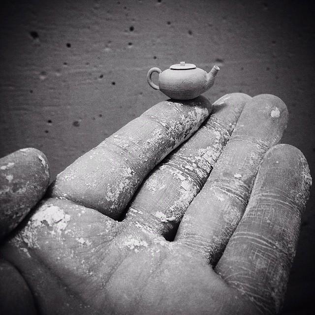 poterie minuscule céramique almeda