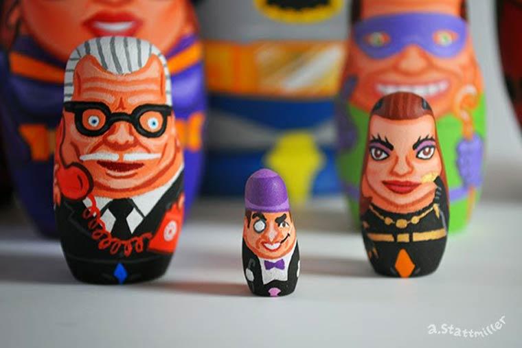 Les poupées russes revisitées par Andy Stattmiller 2