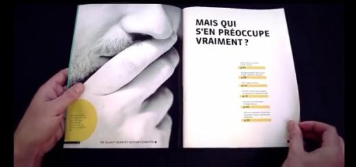 GENIAL: PUB d'une agence québécoise très pertinente.