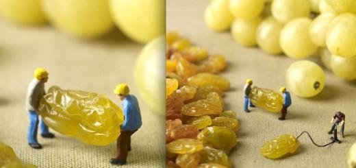Mini-miam : Les aventures de petits personnages dans le monde de la nourriture ! 24