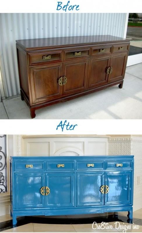 AVANT / APRES : donnez une seconde vie à vos anciens meubles et à votre aménagement intérieur 14