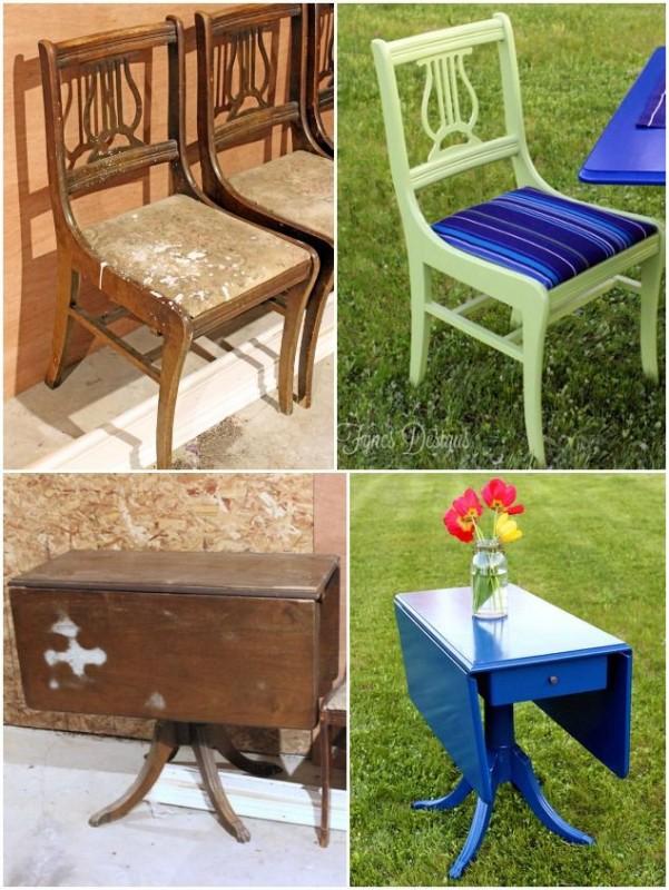 AVANT / APRES : donnez une seconde vie à vos anciens meubles et à votre aménagement intérieur 22