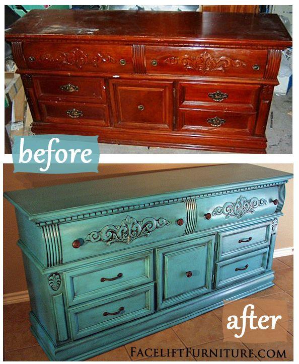 AVANT / APRES : donnez une seconde vie à vos anciens meubles et à votre aménagement intérieur 29