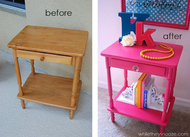 AVANT / APRES : donnez une seconde vie à vos anciens meubles et à votre aménagement intérieur 3