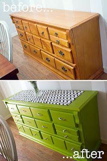 AVANT / APRES : donnez une seconde vie à vos anciens meubles et à votre aménagement intérieur 38
