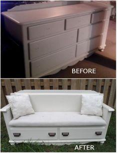 AVANT / APRES : donnez une seconde vie à vos anciens meubles et à votre aménagement intérieur 9