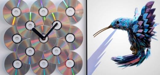 20 idées géniales pour recycler vos vieux CD 30