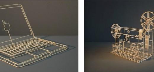 D'incroyables sculptures réalisées avec de simples bâtonnets 14