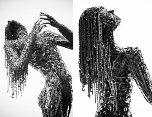 Sculptures en métal très originales