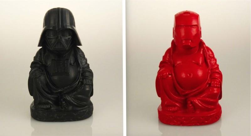Les super-heros déguisés en Bouddha. 12