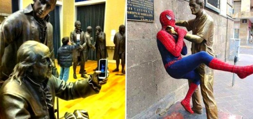 Et si les statues prenaient vie... En 27 photos 28