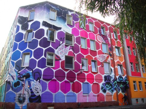 street art immeuble 11