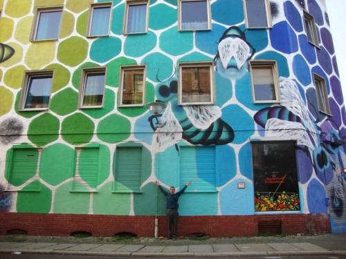 street art immeuble 12