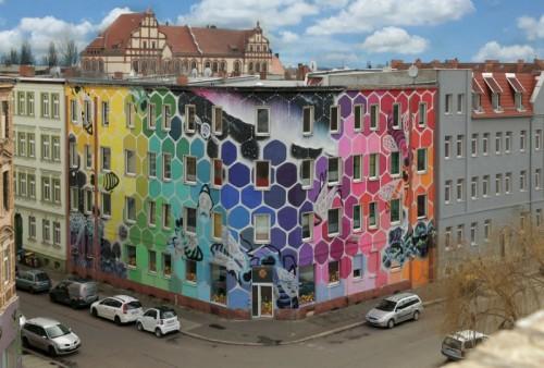 street art immeuble 13