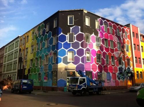 street art immeuble 7