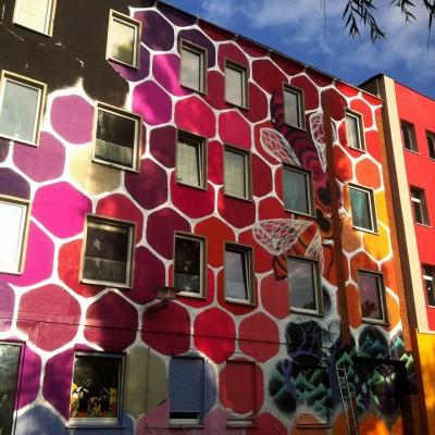 street art immeuble 8