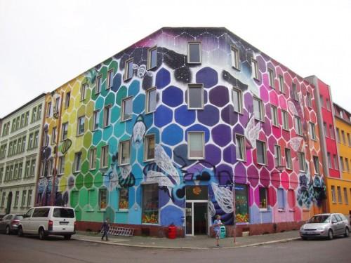 street art immeuble 9
