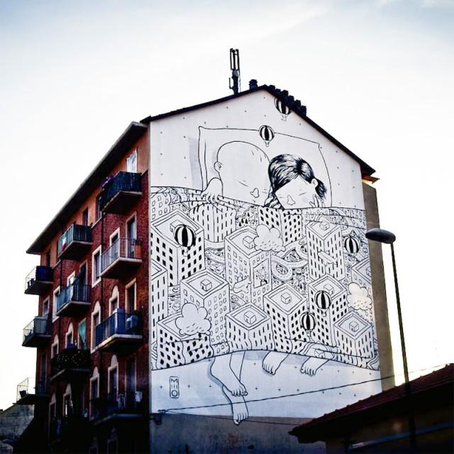 ART : les gigantesques fresques murales de Millo 3