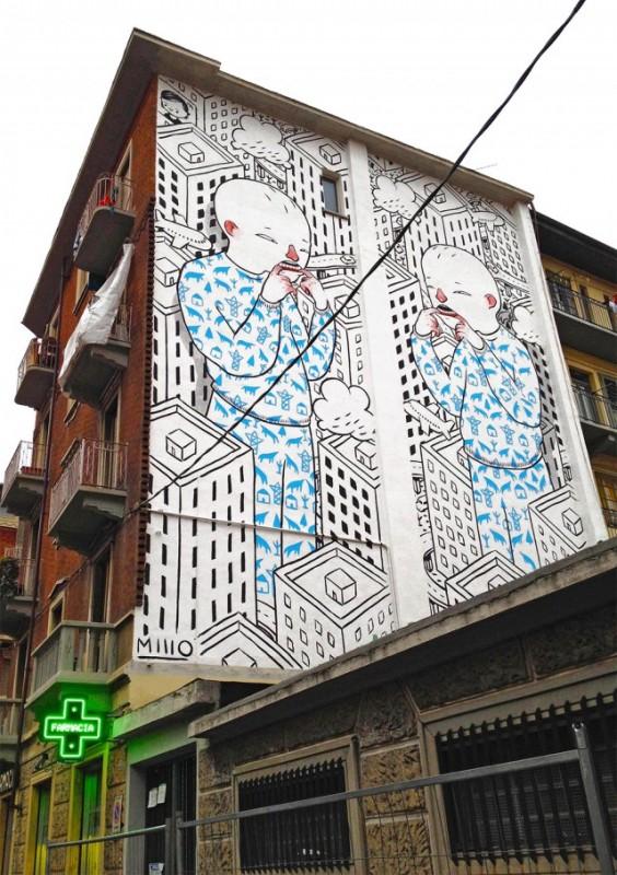 ART : les gigantesques fresques murales de Millo 5