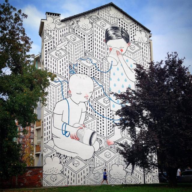 ART : les gigantesques fresques murales de Millo 6