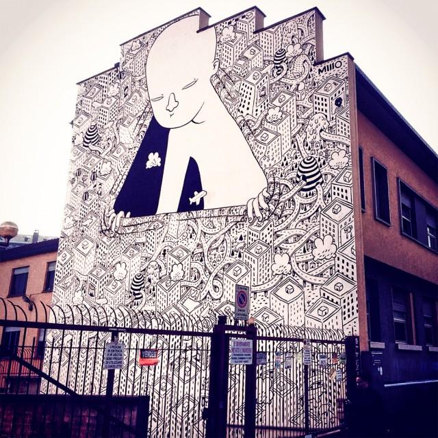 ART : les gigantesques fresques murales de Millo 7