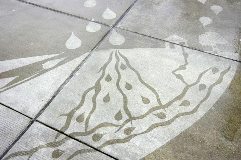 street art pluie 7