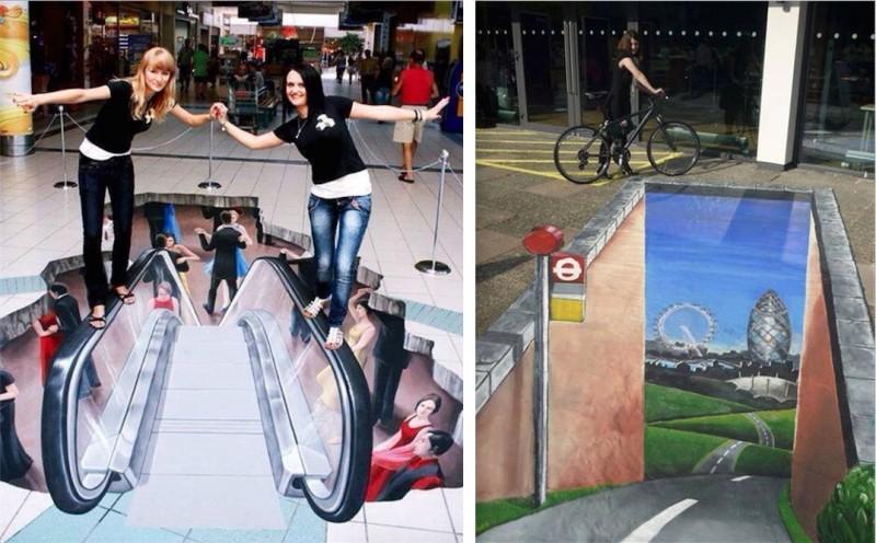 STREET ART : Graffitis en 3D absolument magnifiques ! 15