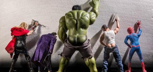 Les super-héros comme vous ne les avez jamais vu ! 5