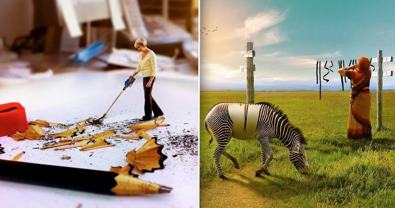 Les montages photos incroyablement poétiques de l'artiste Anil Saxena 13