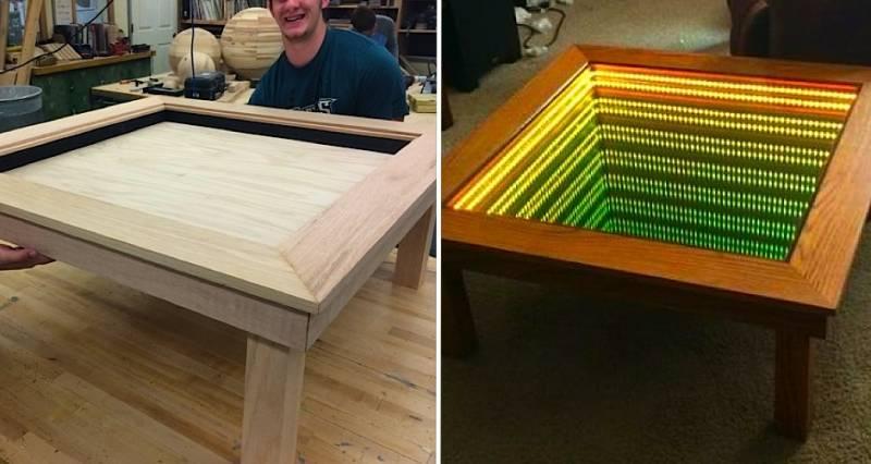 Un étudiant américain fabrique cette table hors du commun 17