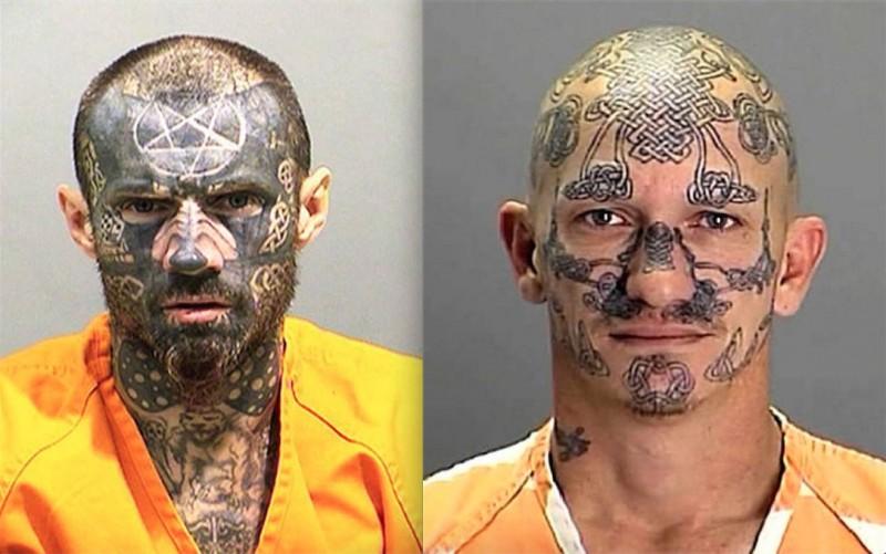 Mugshots : Les tatouages du crime 20
