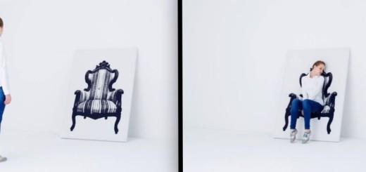 INSOLITE : Une toile pour s'asseoir, une idée de génie ! 8