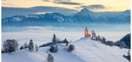Des villes pittoresques sous la neige. 21